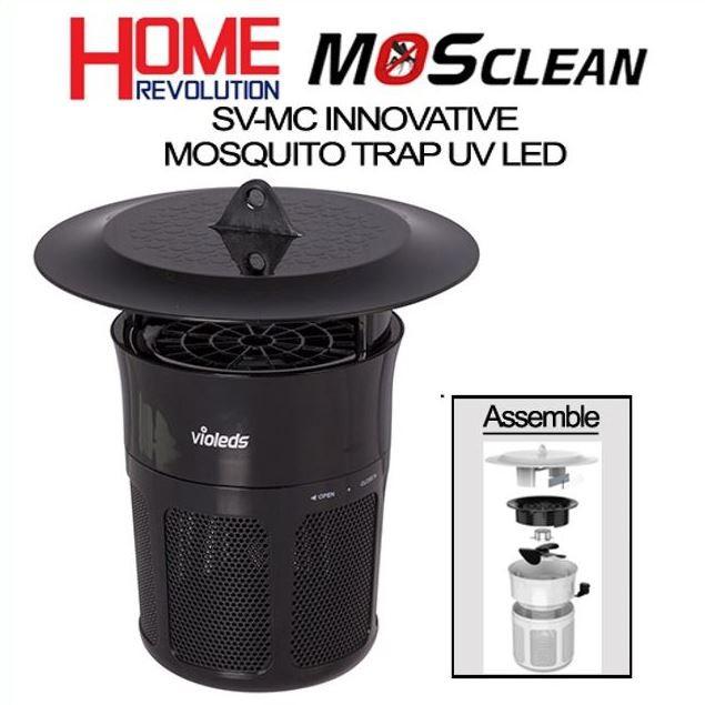 Máy bắt muỗi (đèn bắt muỗi) LED UV Mosclean Hàn Quốc, nhập khẩu chính hãng, Bảo Hành 2 Năm