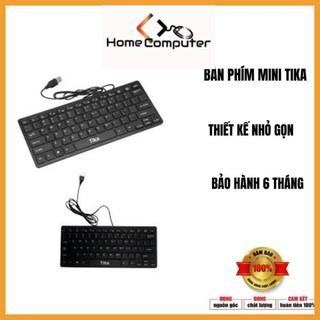 Bàn phím mini TIKA nhỏ gọn.bảo hành 6 tháng - Home Computer thumbnail