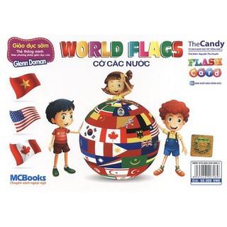 Flashcard - World flags - Cờ các nước - MCBooks thumbnail