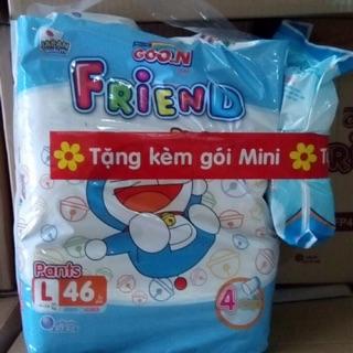 [Mua 1 tặng 1] Bỉm Goon friend quần M54,L46,XL40,XXL34 thumbnail