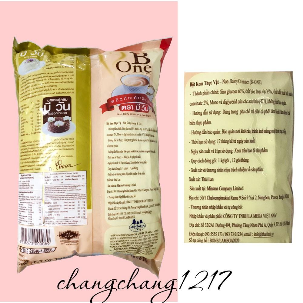 Bột Kem Béo Pha Trà Sữa Thái Lan B One Bone Gói 1kg