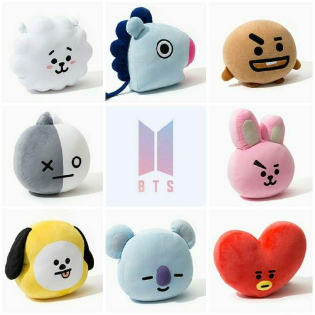 [SALE] BT21 gấu  chimmy tata shooky cooky