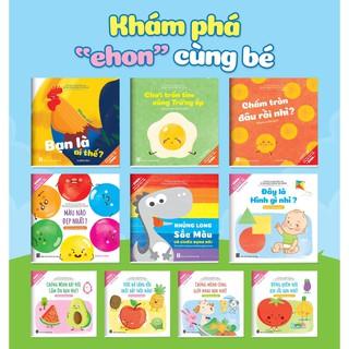Sách - Ehon Song ngữ Việt Anh Cho Bé từ 0-6 tuổi (bộ 10 cuốn có file nghe)