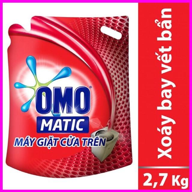 Nước Giặt OMO Matic Túi 2,7 L (Đỏ)