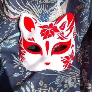 Mặt nạ mèo vẽ_07 (Mask fox/cat -cosplay) dj9Z