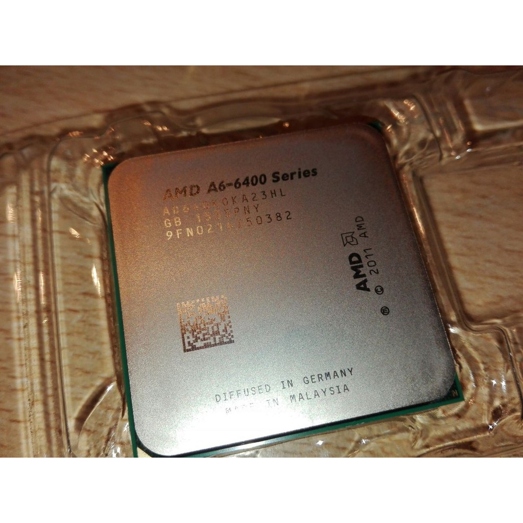 CPU AMD A6 6400k (1M Cache, 3.9Ghz)