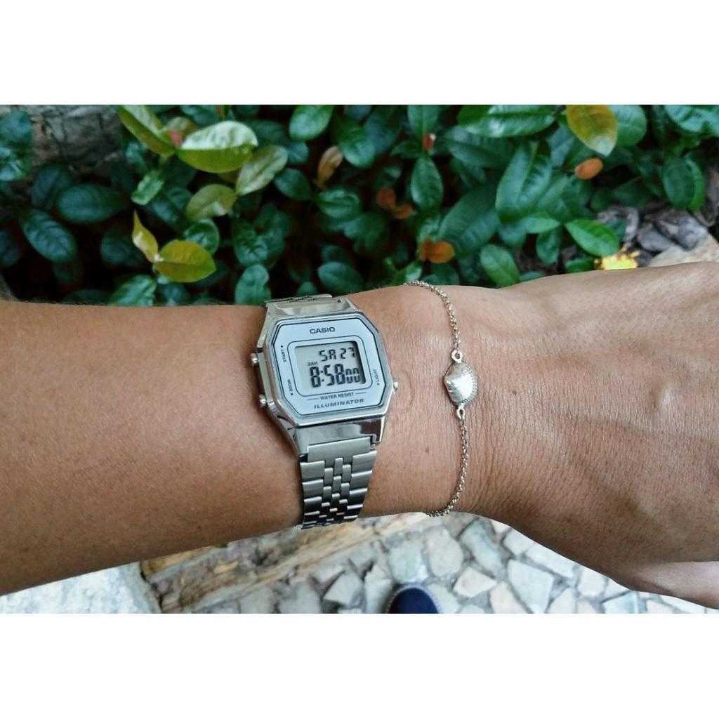 HOT Đồng hồ nữ Casio Anh Khuê LA680WA-7DF Chống nước tuyệt đối