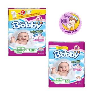 Miếng lót sơ sinh Bobby nb1 64 miếng 108 miếng cho bé thumbnail