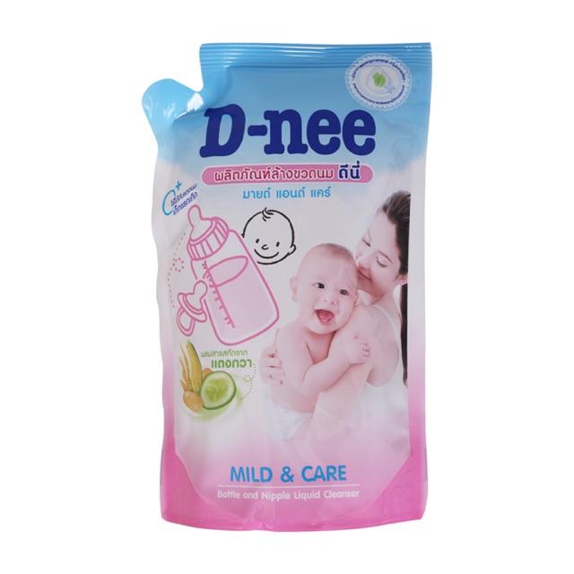 Nước rửa bình sữa D-nee túi 600ml