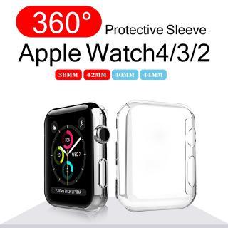Vỏ Bảo Vệ 360 Mềm Và Mỏng Cho Đồng Hồ Thông Minh Apple Watch Series 6 SE 5 4 3 2 1 42mm 38mm thumbnail