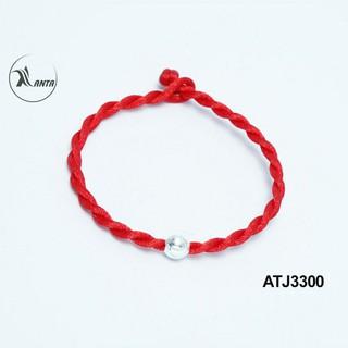 Hình ảnh Vòng tay chỉ đỏ hạt bạc 925 ANTA Jewelry ATJ3300-4
