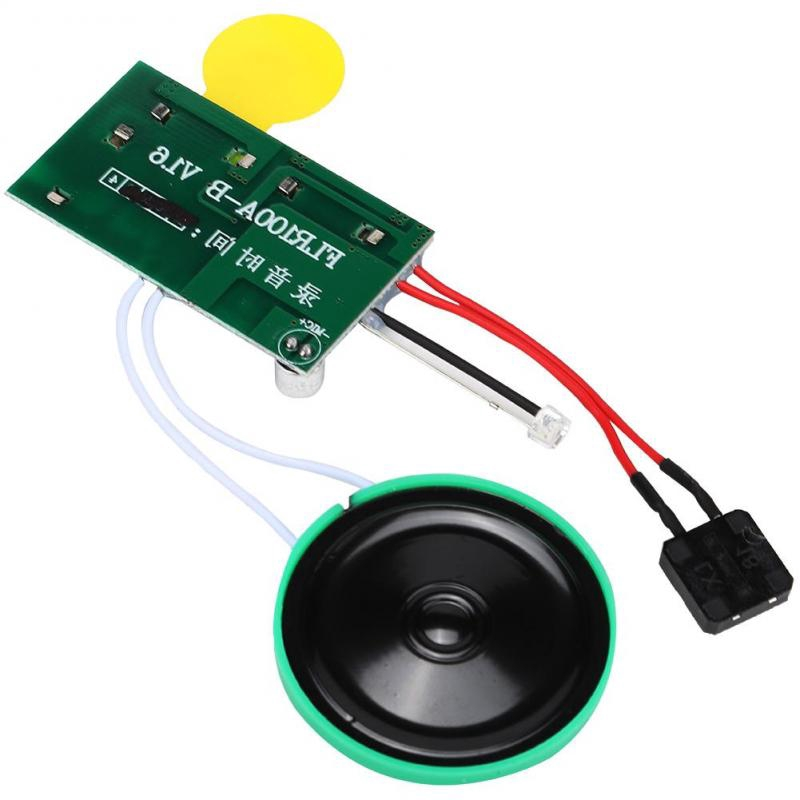 Yimeni 240s Seconds Recorder,Recordable Sound Module,DIY Recordable Greeting Card Module,Light Sensor Sound Module for M