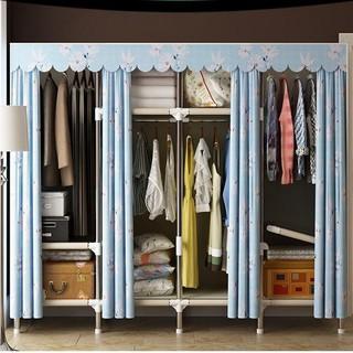 Tủ quần áo khung gỗ 4 buồng loại 1 để quần áo