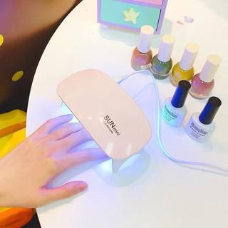Đèn LED USB hong khô sơn móng tay bằng ánh sáng UV hiệu ROSALIND SUNUV thumbnail