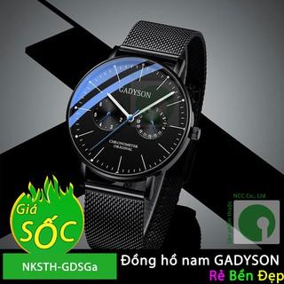 Đồng hồ nam GADYSON dây thép nhuyễn kiểu dáng độc lạ Ga2v01 - NKSTH-GDSGa