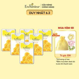 Combo 6 Nước hoa bỏ túi Enchanteur 18ml Chai thumbnail