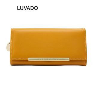 Ví nữ đẹp dáng dài cầm tay PIERRE LOUES thời trang cao cấp nhiều ngăn đựng tiền LUVADO VD369 thumbnail