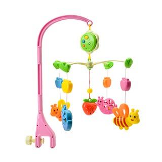 Đồ chơi treo nôi Antona khu vườn của bé có nhạc ru bằng nhựa an toàn thumbnail