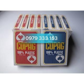 Bài nhựa copag chơi poker cao cấp chống nước, chống trơn, chống gẫy
