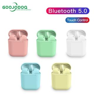 Tai nghe Blueooth 5.0 GOOJODOQ cảm ứng chạm tích hợp micro mang lại âm thanh sống động