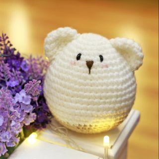 Gấu Bobbie lục lạc Handmade cao cấp