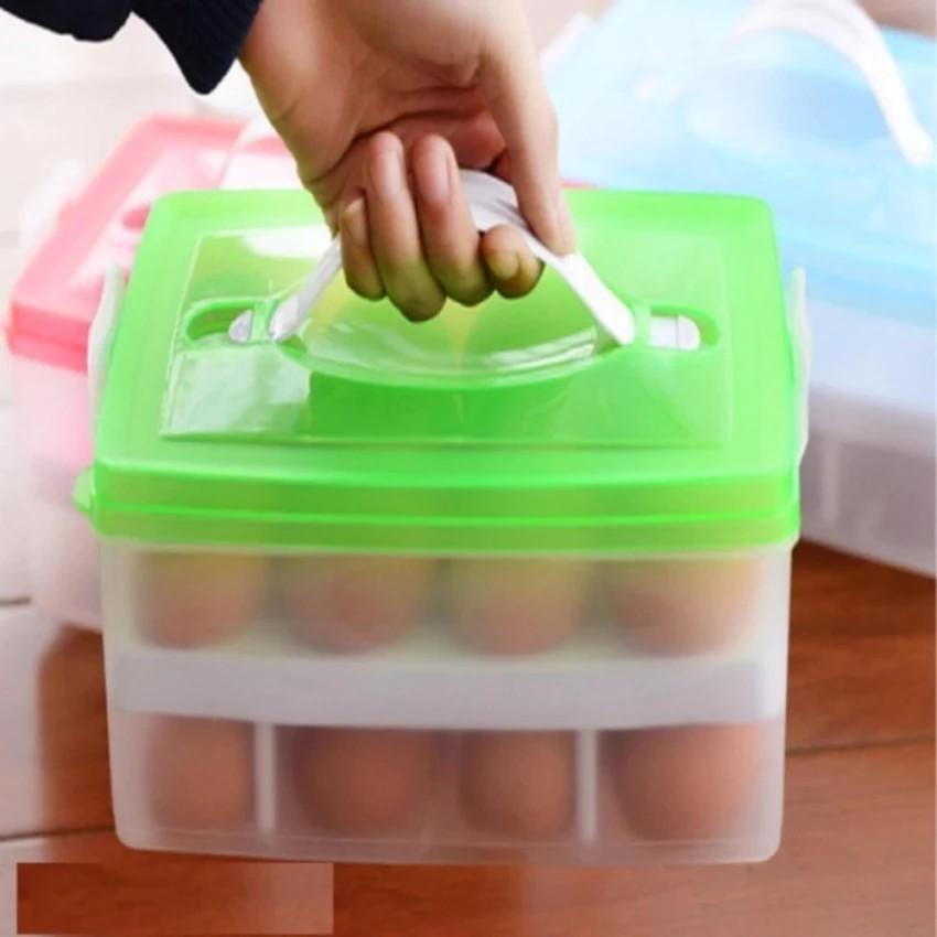 Hộp đựng trứng 2 tầng 24 quả - 3087153 , 626215548 , 322_626215548 , 70000 , Hop-dung-trung-2-tang-24-qua-322_626215548 , shopee.vn , Hộp đựng trứng 2 tầng 24 quả