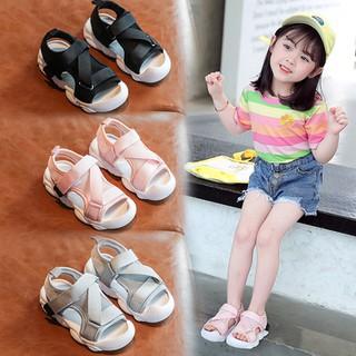 Giày Sandal Đế Dày Thời Trang Hàn Quốc 2020 Cho Bé Trai Và Gái