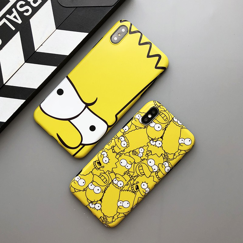 [IPHONE] Ốp Lưng Silicon The Simpsons - B060