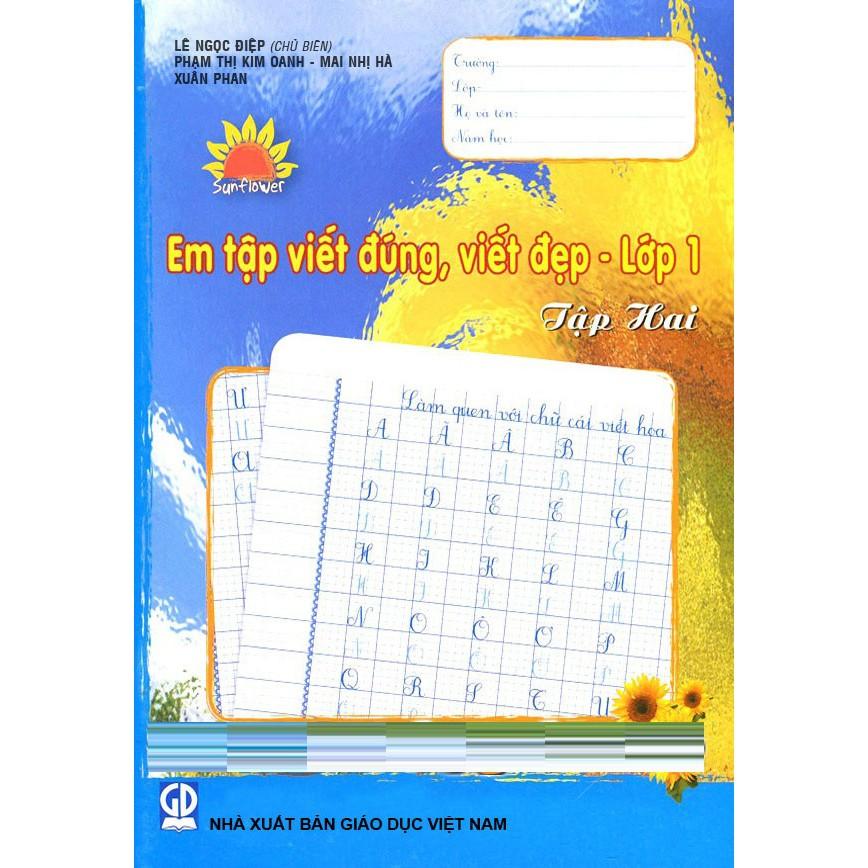 Em Tập Viết Đúng, Viết Đẹp Lớp 1 - Tập 2 - 9987280 , 754922875 , 322_754922875 , 11500 , Em-Tap-Viet-Dung-Viet-Dep-Lop-1-Tap-2-322_754922875 , shopee.vn , Em Tập Viết Đúng, Viết Đẹp Lớp 1 - Tập 2