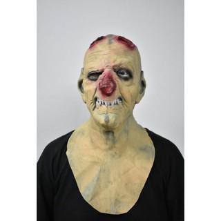 Mặt nạ Halloween quỷ cụt sừng mũi đỏ