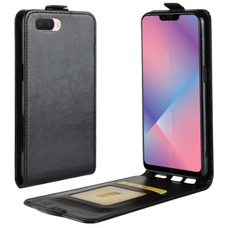 Leather Case Flip Wallet Cover for OPPO A3S