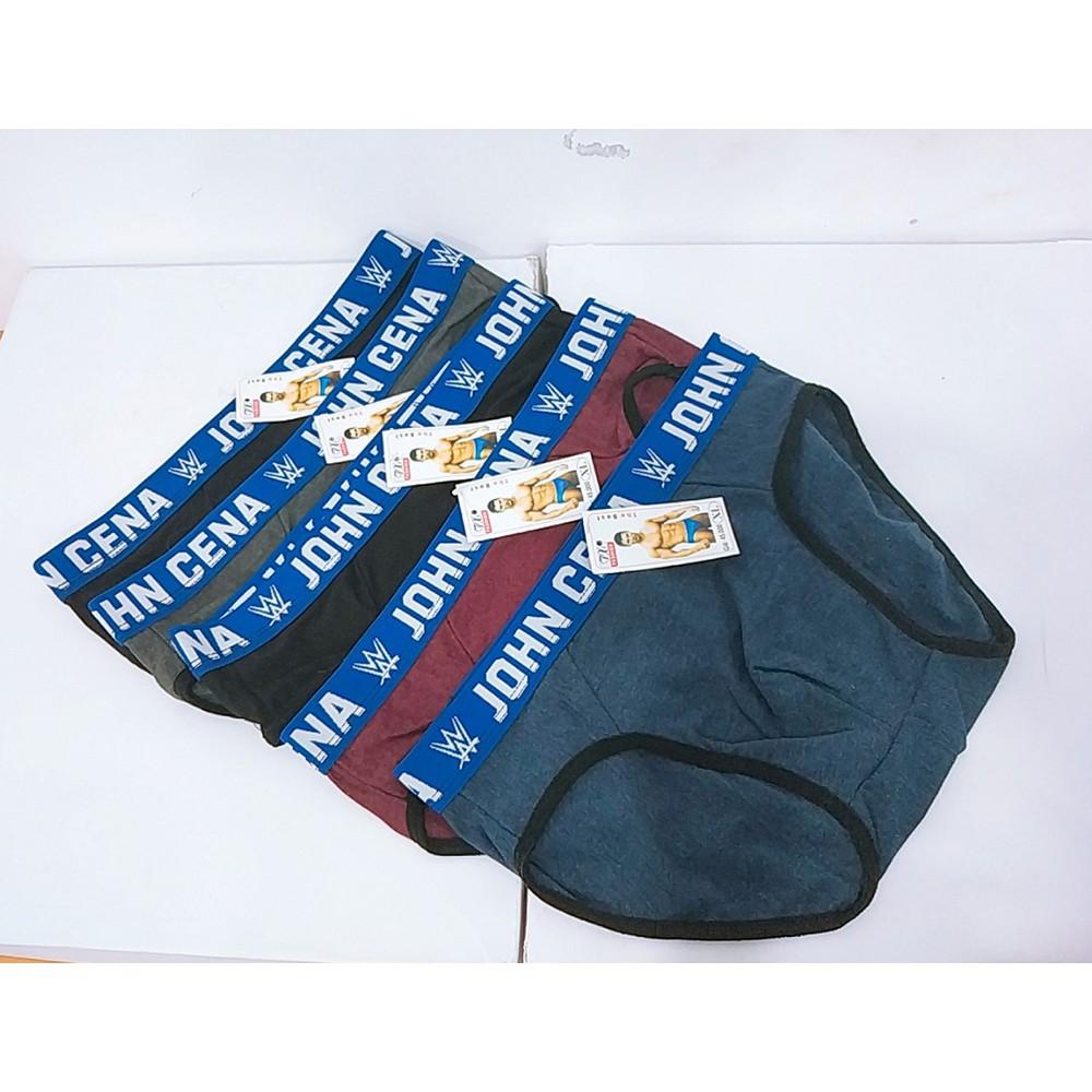 Combo 5 quần sịp,quần lót chéo thường cạp ngẫu nhiên TT&GĐ