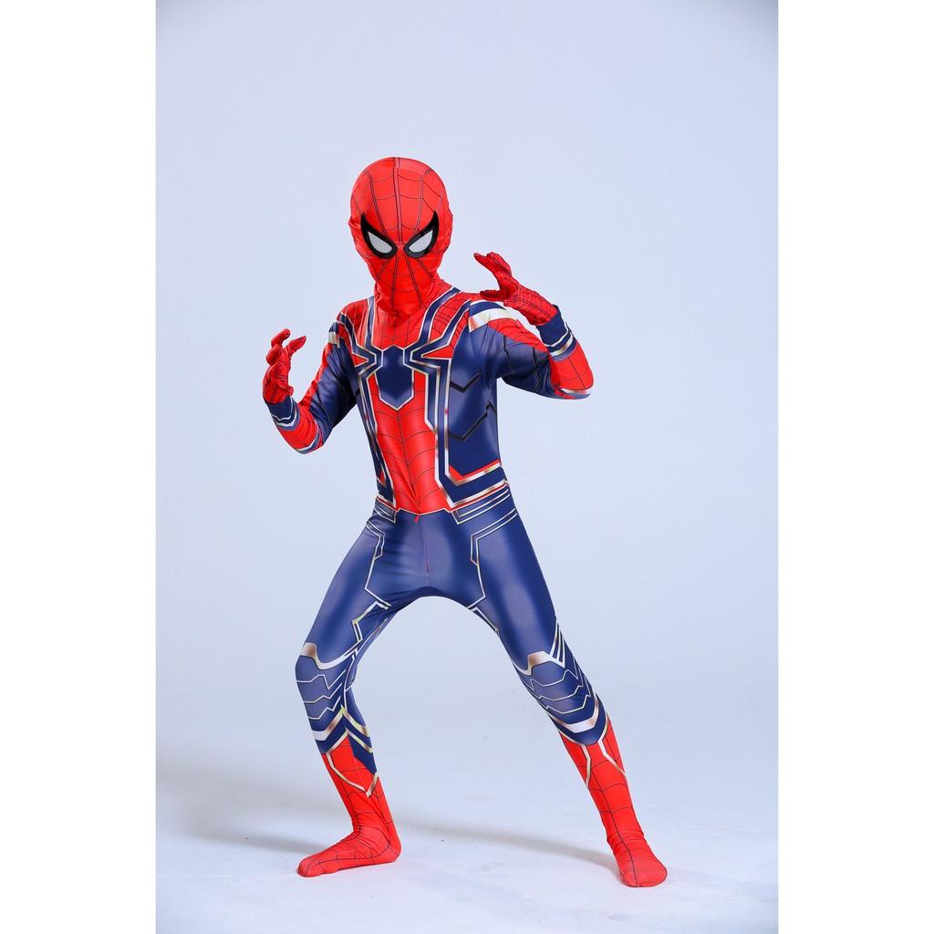 Quần Áo Người Nhện Spider Man Siêu cấp cho Bé Trai