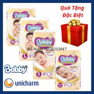 [ĐỦ SIZE] Tã Dán Bobby Siêu Mềm Extra Soft Dry S74 SX48 S40 M34 L30 XL27 Cho Bé Từ Sơ Sinh Đến 17kg(HSD 2022-2023) thumbnail