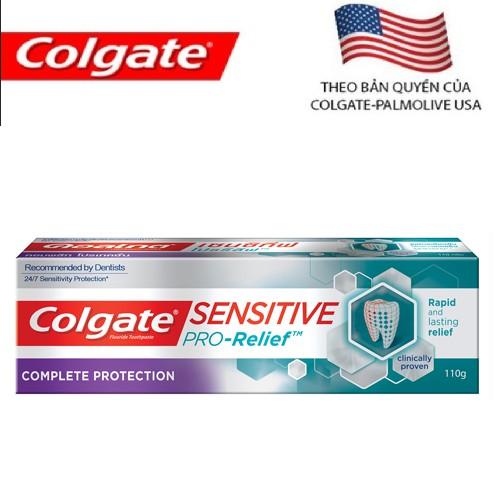 Kem đánh răng Colgate Sensitive Pro Relief dành cho răng nhạy cảm hay ê buốt 110g - 7891024123447 - 3240075 , 373265804 , 322_373265804 , 53000 , Kem-danh-rang-Colgate-Sensitive-Pro-Relief-danh-cho-rang-nhay-cam-hay-e-buot-110g-7891024123447-322_373265804 , shopee.vn , Kem đánh răng Colgate Sensitive Pro Relief dành cho răng nhạy cảm hay ê buốt 110