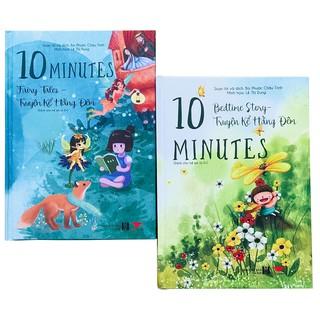 Sách: Truyện kể hàng đêm - Combo 2 cuốn - 10 minute fairy tales và bedtime stories