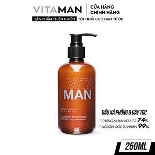 Dầu Xả Làm Phồng Tóc Dành Cho Nam Vitaman Grooming Volumising Conditioner 250ml