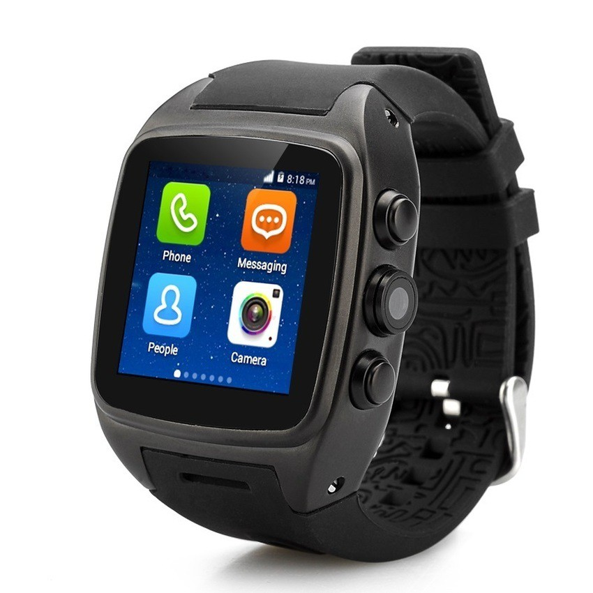 Đồng hồ thông minh Smartwatch Mobile Z1 - 4G (Đen)