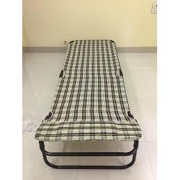 Giường xếp tùy chỉnh- Giường bạt KÈM GỐI NGỦ