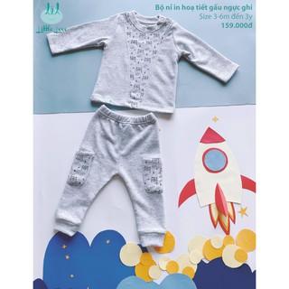 Bộ-nỉ-họa-tiết-in-hình-gấu-cho-bé-3-tháng-đến-3-tuổi-littlelove