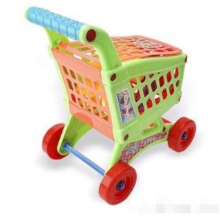 Bộ đồ chơi xe đẩy hàng siêu thị