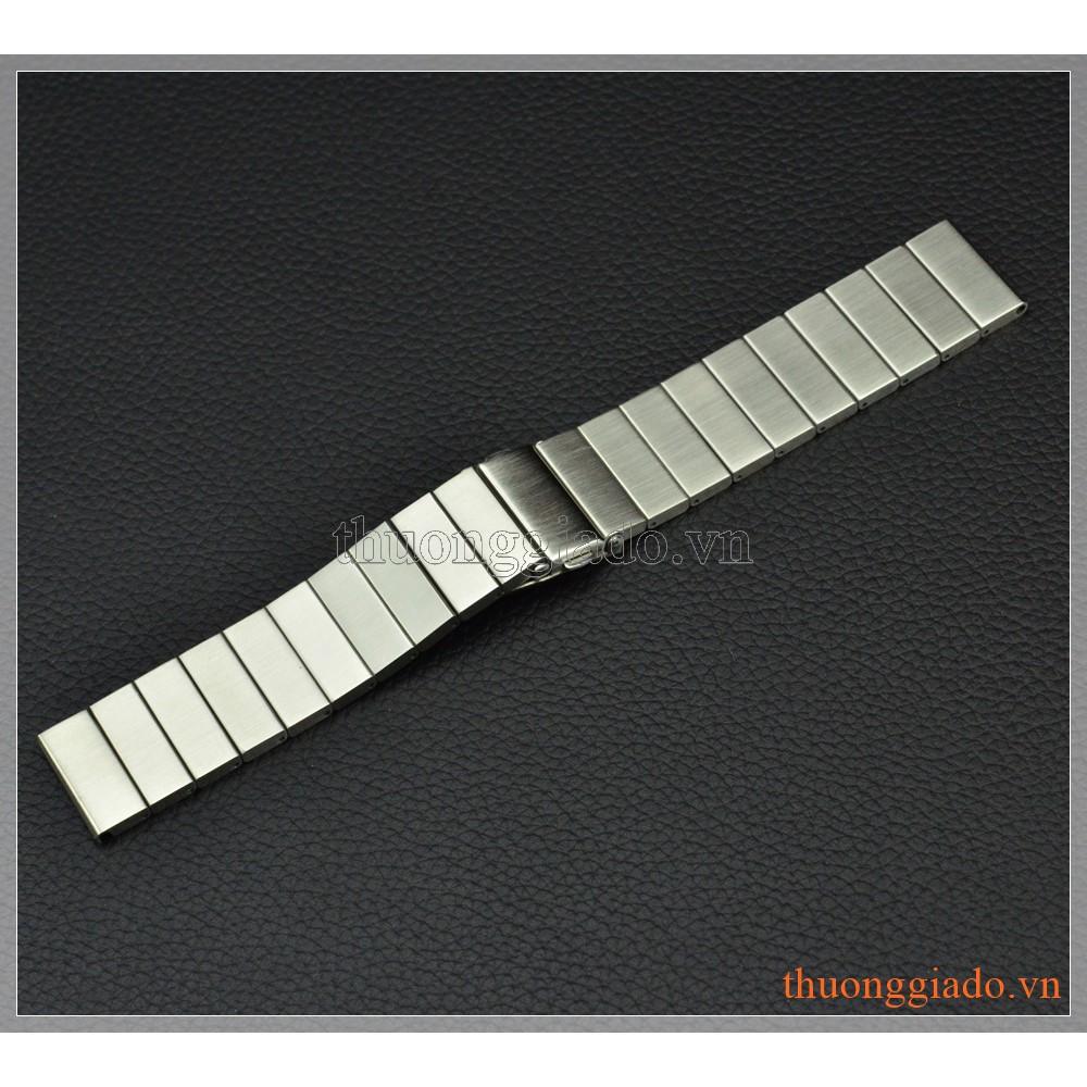 DÂY ĐỒNG HỒ SAMSUNG GEAR S3 CLASSIC, GEAR S3 FRONTIER (HỢP KIM,MÀU TRẮNG,MẪU 2)