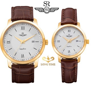 Đồng hồ cặp đôi nam nữ SRWATCH SG3002.4602CV - SL3002.4602CV mặt kính Sapphire chống nước chống trầy bảo hành 12 TH thumbnail