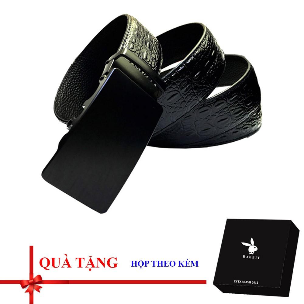 Thắt lưng/ dây nịt nam khóa tự động có hộp đựng hãng theo kèm