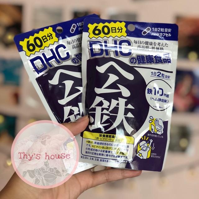 Viên uống bổ sung chất Sắt của DHC Nhật 60 ngày - 2863733 , 1322758086 , 322_1322758086 , 190000 , Vien-uong-bo-sung-chat-Sat-cua-DHC-Nhat-60-ngay-322_1322758086 , shopee.vn , Viên uống bổ sung chất Sắt của DHC Nhật 60 ngày