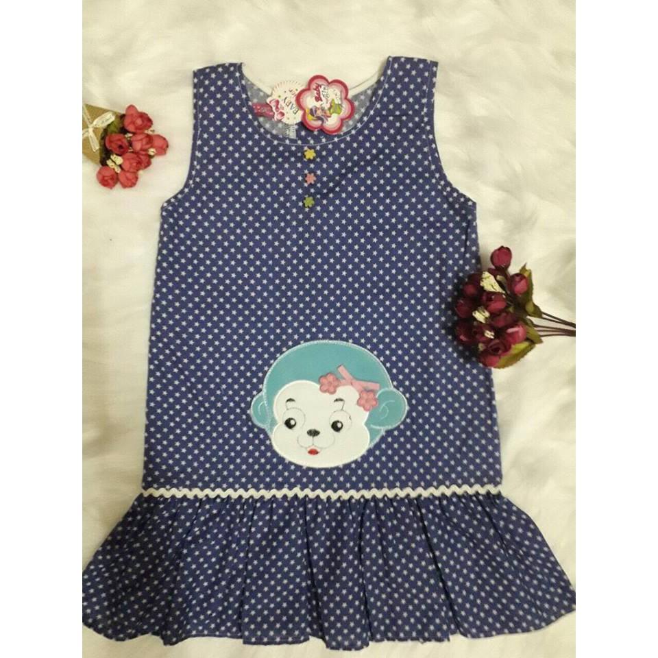 Đầm xanh ngôi sao hình gấu cho bé - 3340454 , 1232104586 , 322_1232104586 , 100000 , Dam-xanh-ngoi-sao-hinh-gau-cho-be-322_1232104586 , shopee.vn , Đầm xanh ngôi sao hình gấu cho bé