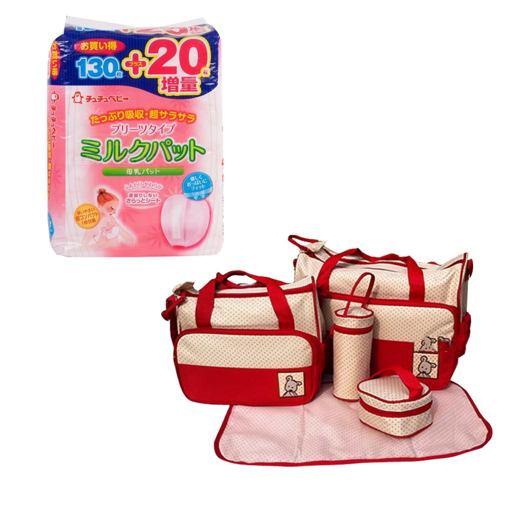 Bộ miếng lót thấm sữa Chuchu 150 miếng và Túi đựng đồ cho mẹ và bé 5 chi tiết Shopconcuame (Đỏ) - 2786201 , 161569360 , 322_161569360 , 675000 , Bo-mieng-lot-tham-sua-Chuchu-150-mieng-va-Tui-dung-do-cho-me-va-be-5-chi-tiet-Shopconcuame-Do-322_161569360 , shopee.vn , Bộ miếng lót thấm sữa Chuchu 150 miếng và Túi đựng đồ cho mẹ và bé 5 chi tiết Sho