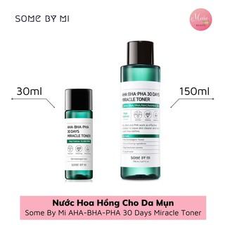 [Auth] Nước Hoa Hồng Cho Da Mụn Some By Mi AHA-BHA-PHA 30 Days Miracle Toner thumbnail