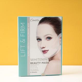 Miếng mặt nạ nâng cơ dưỡng trắng Cénota Whitening Beauty Mask 30ml 2