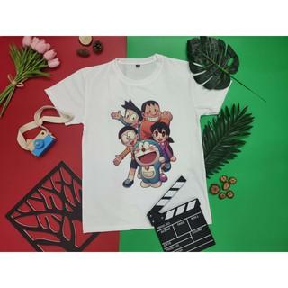 Áo thun unisex Doraemon Mẫu 1